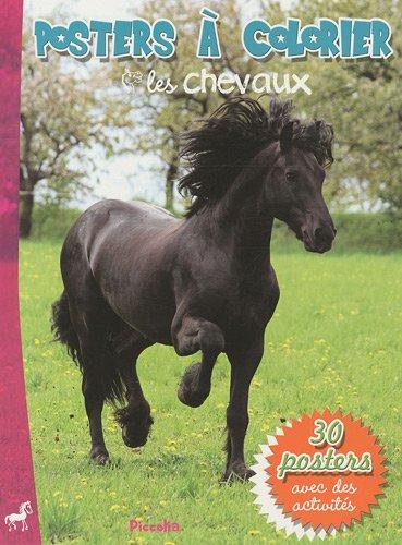 9782753014572: Les chevaux : Poster à colorier