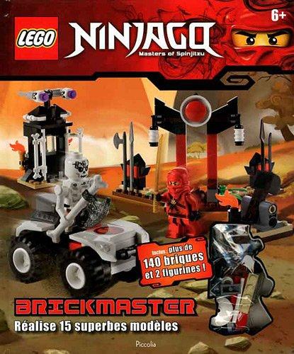 9782753018785: Lego Ninjago Brickmaster : Réalise 15 superbes modèles