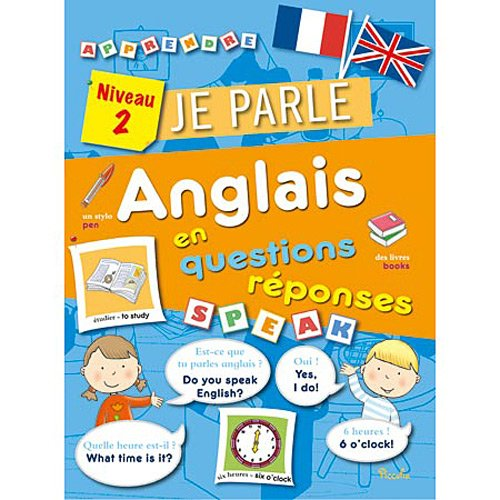 9782753022294: Je parle anglais en questions r�ponses Niveau 2