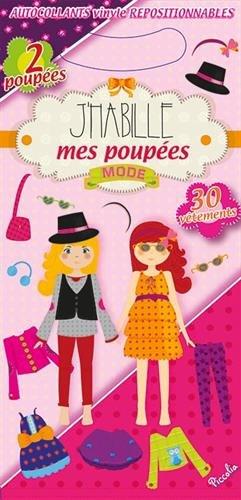 9782753031609: Les poupées mode : Avec 2 poupées et 30 vêtements