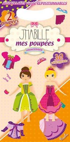 9782753031616: Les poupées princesses : Avec 2 poupées et 30 vêtements