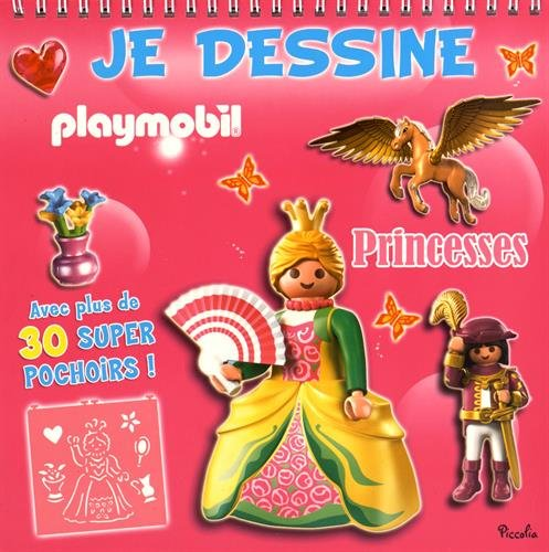 9782753033115: Princesses Playmobil (Je dessine)