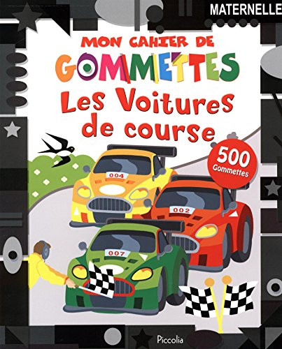 9782753033344: Les voitures de course