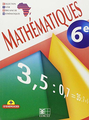9782753101692: Mathematiques 6e Ciam Ned Eleve