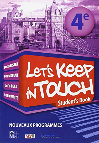 9782753104464: Let'S Keep in Touch 4e Student'S Book Rci