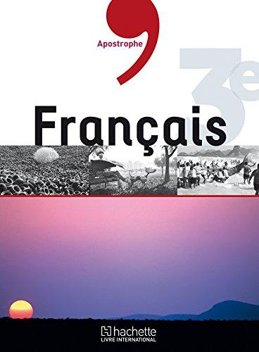 9782753109094: Apostrophe - Français 3e Hli Eleve