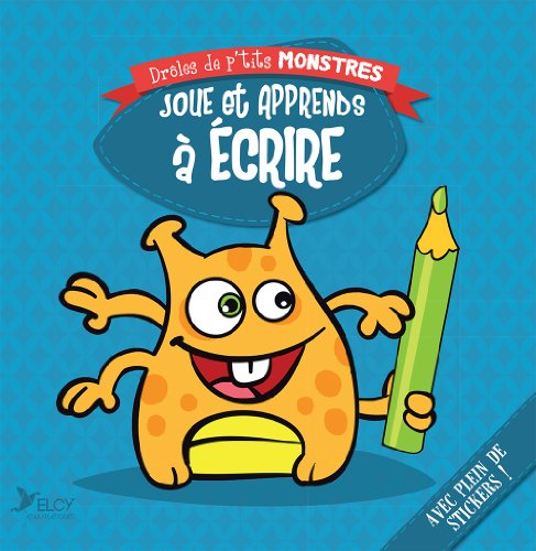 9782753208841: Joue et apprends à écrire : Avec stickers