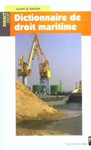 9782753500150: dictionnaire de droit maritime