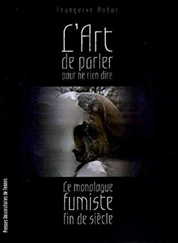 L'art de parler pour ne rien dire: Françoise Dubor