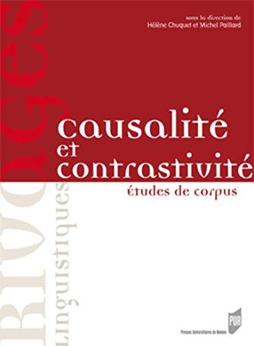 Causalité et contrastivité : études de corpus