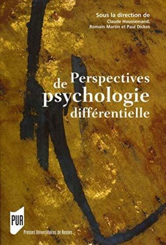 9782753503052: Perspectives de psychologie différentielle