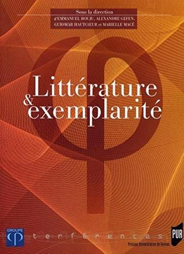 9782753504912: Littérature et exemplarité