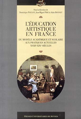 L'éducation artistique en France : du modèle académique et scolaire aux ...