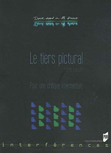 9782753510302: Le Tiers pictural : Pour une critique intermédiale (Interférences)