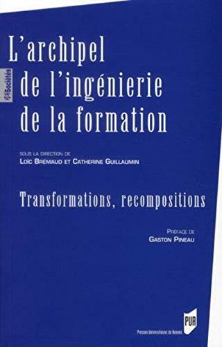 9782753510784: L'archipel de l'ingénierie de la formation : Transformations, recompositions