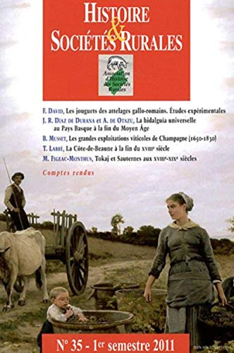 histoire et societes rurales 35: Jean-Marc Moriceau