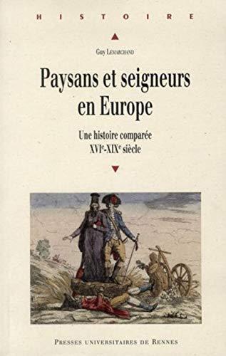 9782753517011: paysans et seigneurs en europe