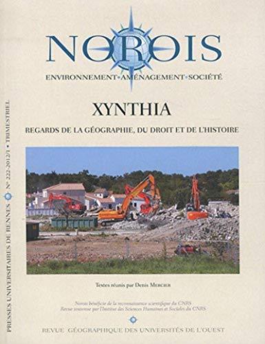 Norois No 222 Xynthia Regards de la geographie du droit et de: Mercier Denis
