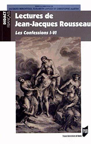 Lectures de Jean Jacques Rousseau: Lavezzi Elisabeth
