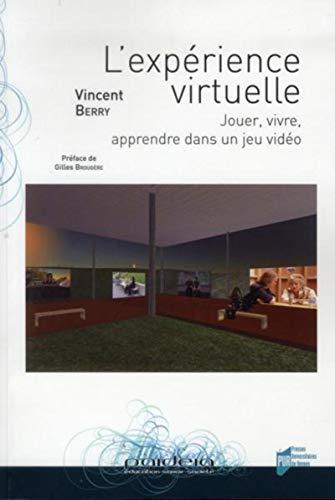 L'experience virtuelle Jouer vivre apprendre dans un jeu video: Berry Vincent