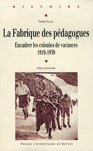 Fabrique des pédagogues: Nicolas Palluau