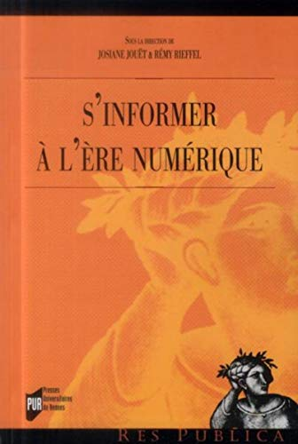 S'informer a l'ere numerique: Jouet Josiane