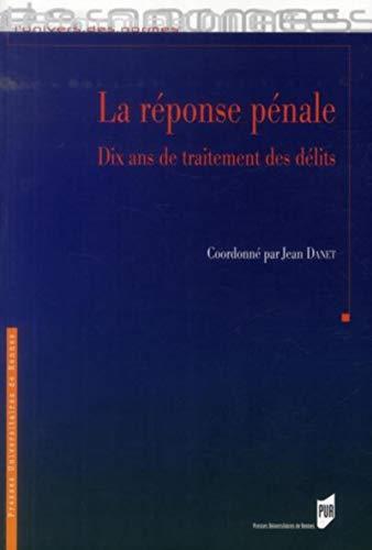 9782753528727: Reponse penale