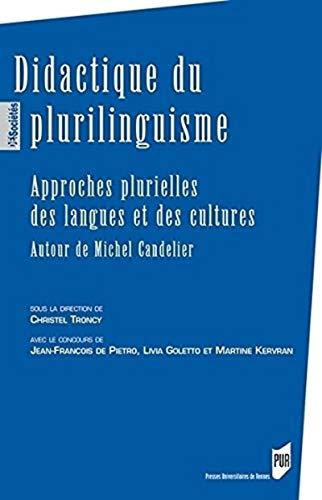 9782753529137: Didactique du plurilinguisme : Approches plurielles des langues et des cultures - Autour de Michel Candelier