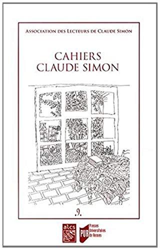 Cahiers Claude Simon No 9: Collectif