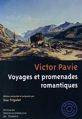 9782753536289: Voyages et promenades romantiques