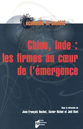 9782753540118: Chine, Inde : les firmes au coeur de l'�mergence