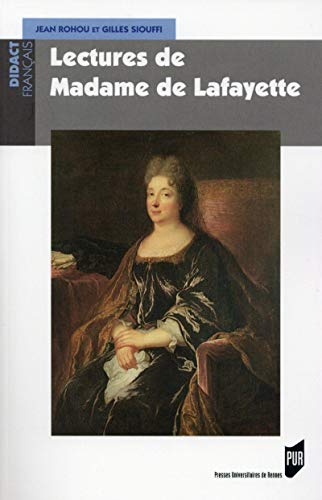 9782753541702: Lectures de Madame de Lafayette