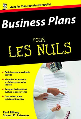 9782754000949: Business Plans pour les Nuls (French Edition)