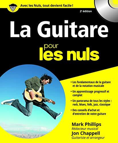 9782754001243: La Guitare pour les nuls (+ 1CD audio).