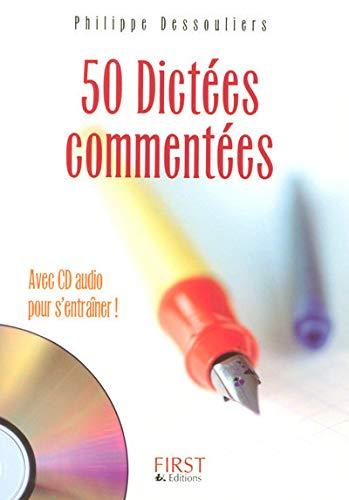 9782754002479: 50 Dictées commentées (1CD audio)