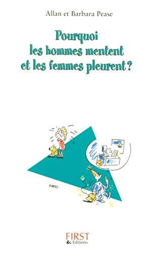 Pourquoi les hommes mentent et les femmes pleurent (French Edition) (2754002715) by Jean Pruvost
