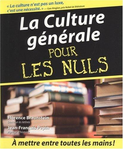 9782754002776: La Culture générale pour les Nuls