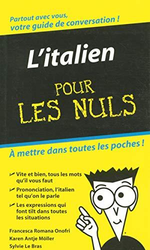9782754003254: L'Italien - Guide de conversation Pour les Nuls