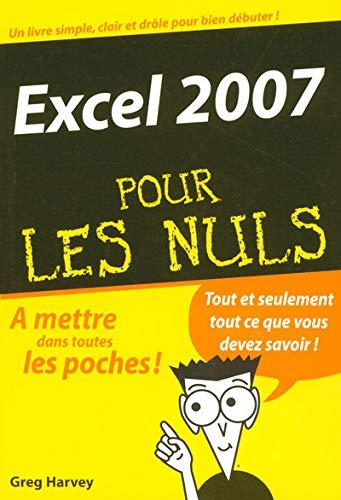 9782754003896: Excel 2007 pour les nuls