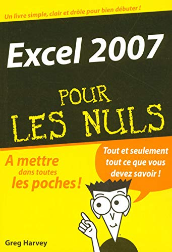 Excel 2007 (French Edition) (2754003894) by Greg Harvey