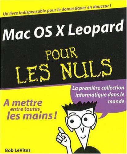 9782754004312: Mac OS X Leopard pour les Nuls