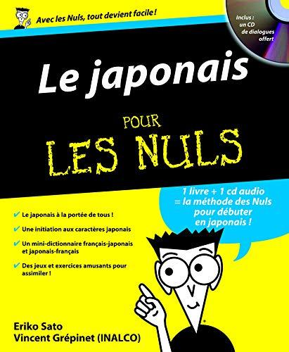 Le japonais pour les nuls (1CD audio) (French Edition): Eriko Sato