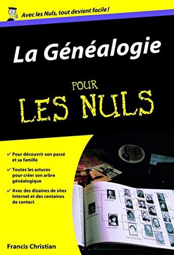 La généalogie pour les Nuls: Christian, Francis
