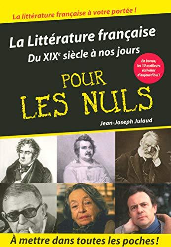 La littérature française pour les Nuls: Julaud, Jean-Joseph