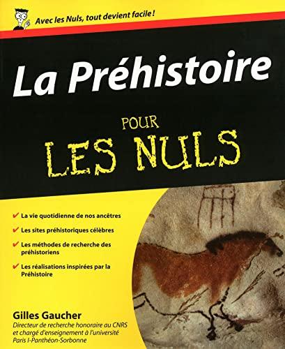 La Préhistoire pour les nuls: Gilles Gaucher