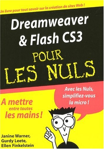 9782754006767: Dreamweaver et Flash CS3