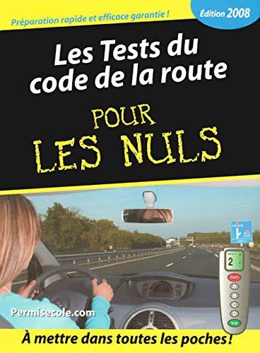 9782754007511: Les Tests du code de la route pour les nuls