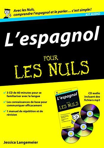 9782754009645: espagnol pour les nuls (L'): 3 CD et un manuel
