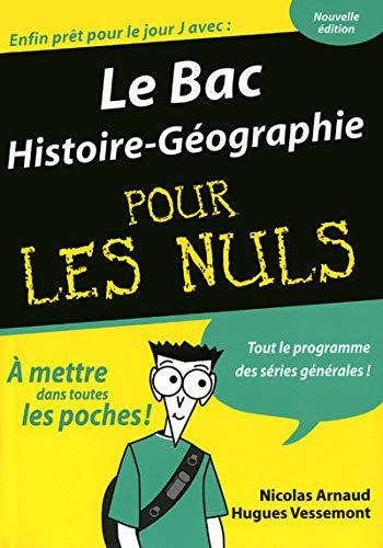 9782754011006: Le Bac Histoire-Géographie pour les nuls