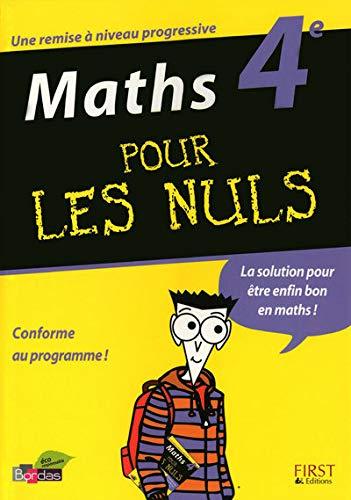 9782754011808: Maths 4e pour les nuls (French Edition)
